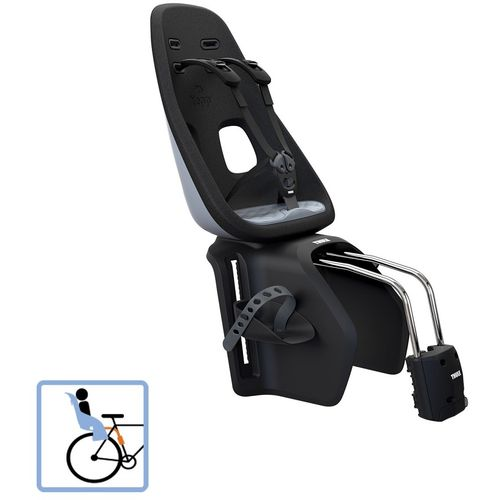 Dječja sjedalica stražnja na ramu Thule Yepp Nexxt Maxi Frame Mounted siva slika 1