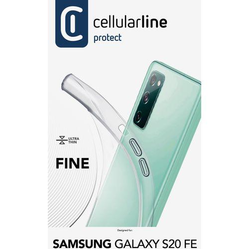 Cellularline Fine silikonska maskica za Samsung Galaxy S20 FE slika 3