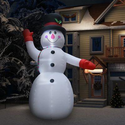 Donesite našeg snjegovića na napuhavanje u svoje dvorište i stvorite doživotnu uspomenu s obitelji! Ovaj snjegović na napuhavanje napravljen je od poliesterske tkanine i ima vodootpornu zaštitu razine IP44, što ga čini laganim, otpornim na...