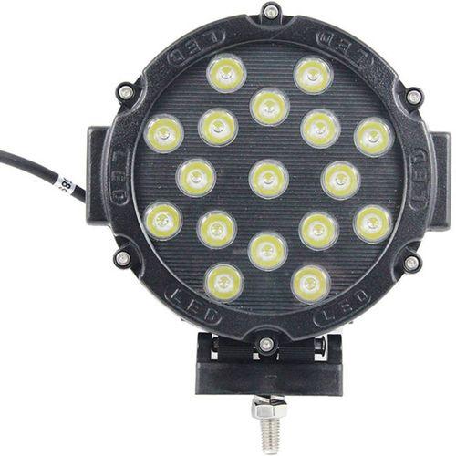 Daljinska prednja svjetla, Rally svjetla W057351 LED diode SecoRüt (Ø x d) 180 mm x 88 mm Crna slika 2