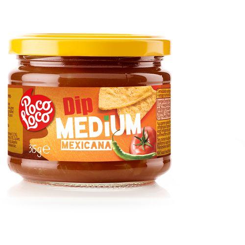 POCO LOCO meksički umak od rajčica, srednje jaki 315g slika 1