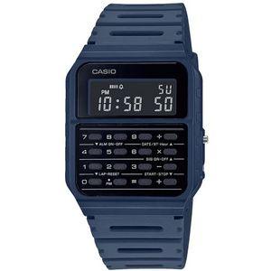 Casio COLLECTION ručni sat CA-53WF-2BEF je s razlogom jedan od najpopularnijih proizvoda iz CASIO kolekcije. Predivan ručni sat na kojem dominira plava boja kućišta te crna boja brojčanika. Resin i plava boja remena doista su odlična kombinacija. Ovaj prekrasan CASIO ručni sat pokreće quartz mehanizam.