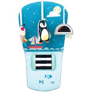 The North Pole Feet Funigračka za auto je divan aktivni centar s kojim se djeca mogu igrati prilikom vožnje, a jedinstvena stimulacija pomoću nogica omogućuje razvoj bebinih osjetila i motoričkih vještina, kao i učenje uzročno-posljedičnih...