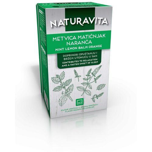 Naturavita Čaj Metvica/Matičnj/Naranča Filter 20X1,5 g slika 1