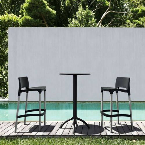 Dizajnerske barske stolice — GIOTTO • 2 kom. slika 1