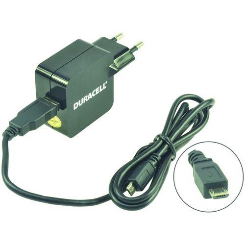 Duracell Punjač – Uni 1xUSB +MicroUSB cable- 2.4A - Black  slika 2