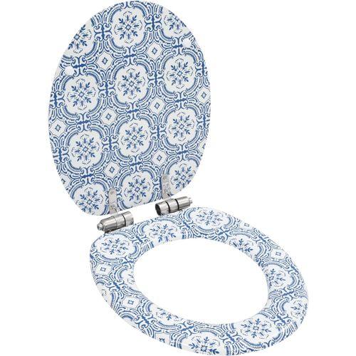 Toaletna daska s mekim zatvaranjem 2 kom MDF uzorak porculana slika 2