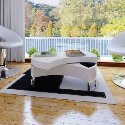 Ovaj stolić za kavu je odličan dodatak za vaš dnevni boravak zahvaljujući svom ekskluzivnom dizajnu. Stol se može zakretati kako bi stvorio različite oblike, istovremeno pružajući skriveni prostor za pohranu. Stolić ima čvrstu konstrukciju koja...