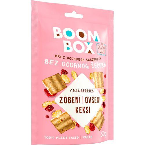 Boom Box Zobeni keksi Brusnica 50g slika 2