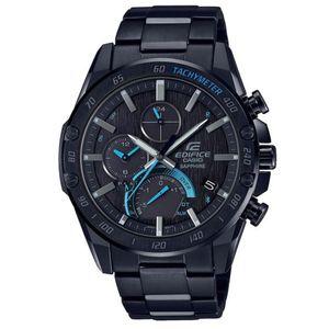 Casio Edifice muški sat EQB-1000XDC-1AER je s razlogom jedan od najpopularnijih proizvoda iz CASIO kolekcije. Predivan muški sat na kojem dominira crna boja kućišta te crna boja brojčanika. Nehrđajući čelik i crna boja remena doista su odlična kombinacija. Ovaj prekrasan CASIO muški sat pokreće quartz mehanizam.