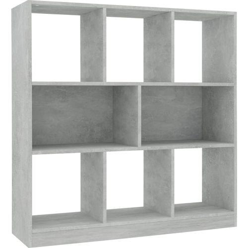 Ormarić za knjige boja betona 97,5 x 29,5 x 100 cm od iverice   slika 2
