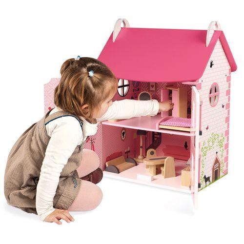 Janod Mademoiselle drvena kućica za lutke slika 3