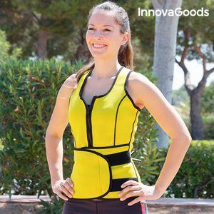Ako se bavite sportom, otkrijte prednosti novog Ženskog Prsluk-Pojasa s Učinkom Saune InnovaGoods Sport Fitness! Ovaj prsluk za mršavljenje učinkovit je i jednostavan način oblikovanja figure! Ovaj prsluk-pojas posebno je dizajniran...