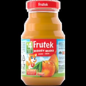 Frutek Sok Breskva Kruška staklenka 125 ml