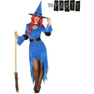 Ako planirate organizirati veliku proslavu, možete odmah po povoljnim cijenama Tematski kostim za odrasle Vještica Modra i druge produits BigBuy Carnival kako biste napravili jedinstvenu i prazničnu atmosferu!Sadrži: HaljinaŠeširKaišBez rukavaSastav: 100 % PoliesterBoja: Modra