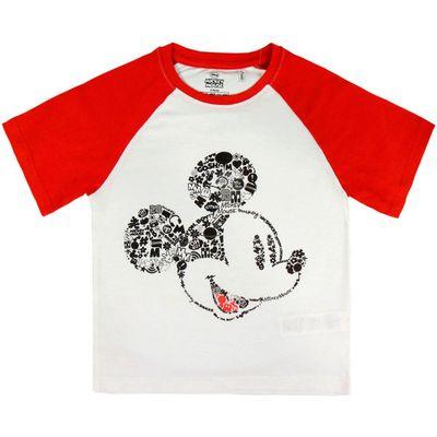 Prekrasna majica s likom Mickey Mousea oduševit će svako dijete i osigurati da je u trendu.  Sastav: 100% pamuk