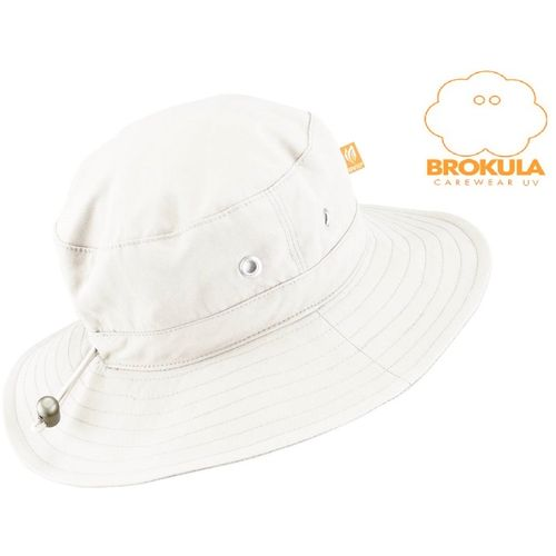 BROKULA MOLVA UV šešir dječji - basic, bijeli, vel. L-XL slika 1