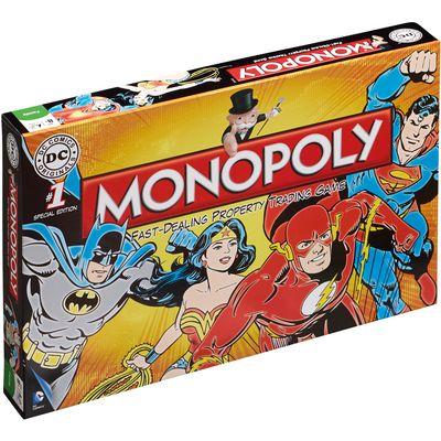 Monopoly DC Comics Retro, engleska verzija  Dob:8+