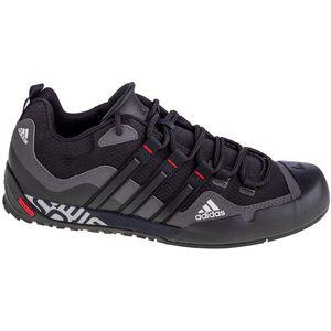 Adidas Terrex Swift Solo FX9323 idealne su tenisice za aktivnosti na otvorenom, planinarenje i trčanje po neravnim terenima u svim vremenskim uvjetima.