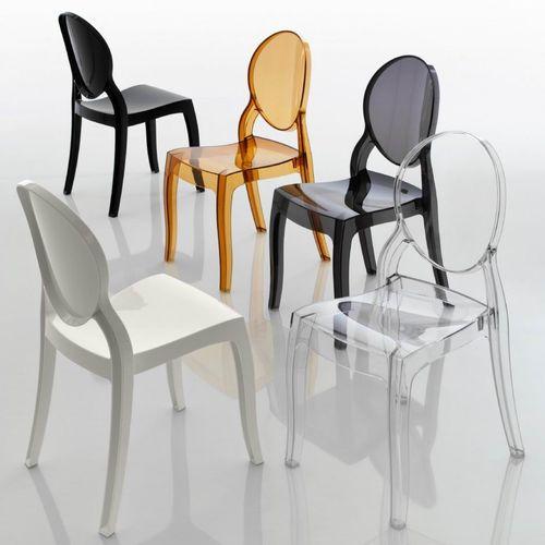 Dizajnerska stolica — POLY OVAL slika 1