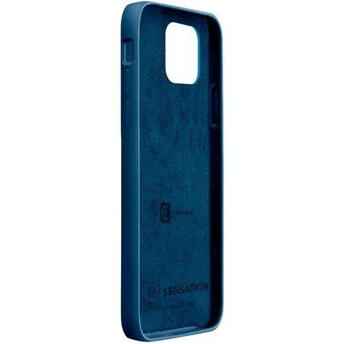 Cellularline Sensation silikonska maskica za iPhone 12/12 Pro plava slika 2