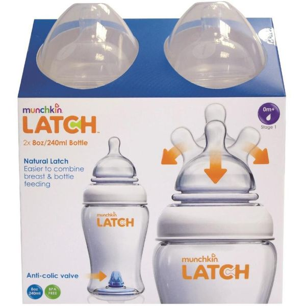 Predstavljamo Vam Munchkin LATCH bočicu - bočica koja će uljepšati vrijeme hranjenja. Duda ove bočice funkcionira gotovo jednako kao i sisanje pri dojenju, tako se bebi olakašava prijelaz sa dojenja na hranjenje na bočicu.
