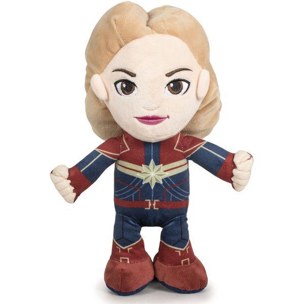 Plišana igračka u obliku Kapetanice Marvel.  Veličina: 32cm.