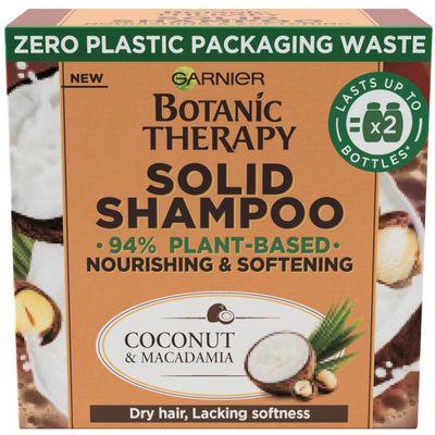 Garnier Botanic Therapy Coco & Macadamia čvrsti šampon 60 gr