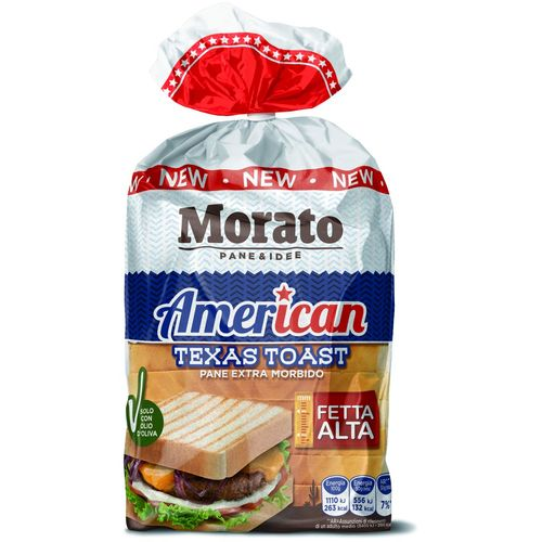 MORATO american texas tost 400g slika 1