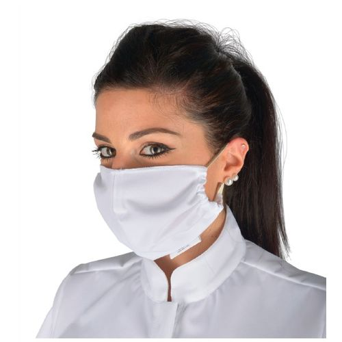 Višekratna kirurška maska TIP IIR - bijela slika 1