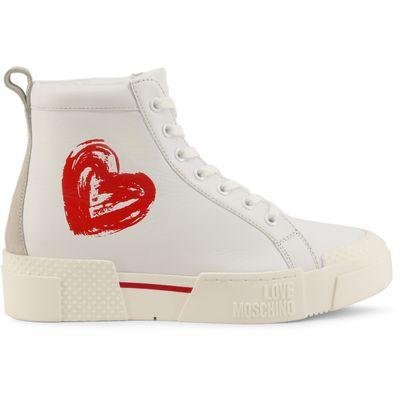 Leather  Sneakers  Women  Fall/Winter  White