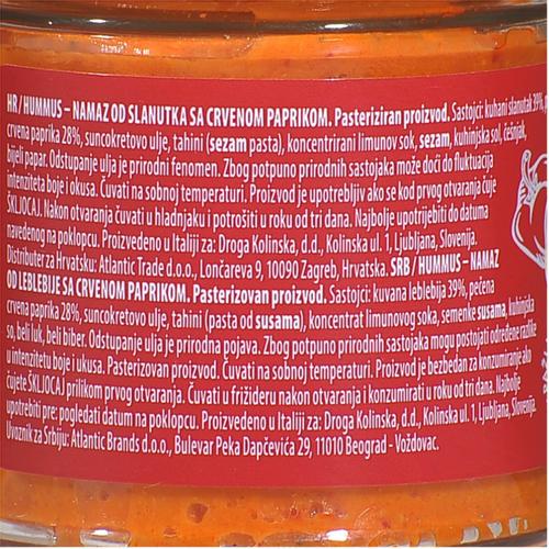Argeta Hummus Namaz Paprika 145g slika 3