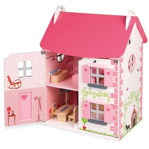 Janod Mademoiselle drvena kućica za lutke slika 2