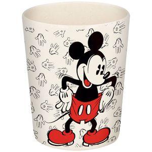 Čaša od bambusa s likom Mickey Mousea. Nije prikladna za mikrovalnu pećnicu.