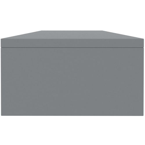 Stalak za monitor sivi 100 x 24 x 13 cm od iverice slika 5