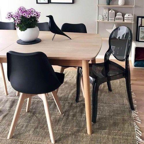 Dizajnerska stolica — POLY OVAL slika 7
