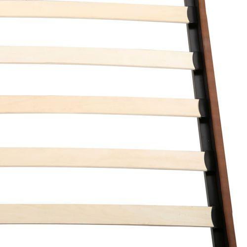 Krevet od tkanine s memorijskim madracem smeđi 180 x 200 cm slika 9