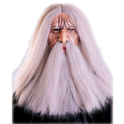 Bilo da želiš biti čarobnjak ili mudrac ova maska s dugom kosom je sve što trebaš. U našem web shopu pronaći ćeš i odgovarajući kostim.