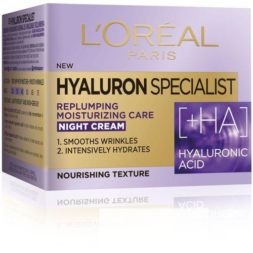 L'Oreal Paris Hyaluron Specialist noćna hidratantna krema za vraćanje volumena 50 ml slika 3