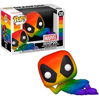 POP figure Pride Deadpool Rainbow