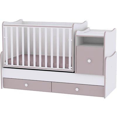 Soba koja raste s Vašim djetetom. Od kolijevke koja se ljulja s komodom za previjanje do kreveta, noćnog ormarića i radnog stola za djecu, ali i mnogo više.