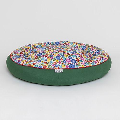 Hudog krevet kadica krug-dvostrani za ljubimce slika 2