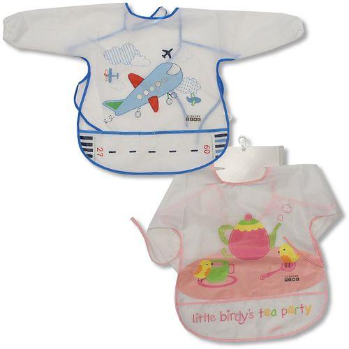 Bytex podbradnjak za bebe sa rukavom i đepom od najlona - Sort slika 1