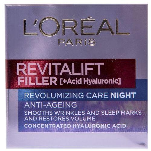 L'Oreal Paris Revitalift Filler Noćna krema protiv bora 50 ml slika 1