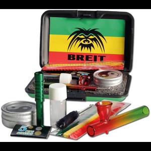 Praktičan Breit set sadrži staklenu lulu četkicu za čišćenje, tri čistača za lulu, praktičnu kutijicu sa Ying Yang logom Lula: 75 mm
