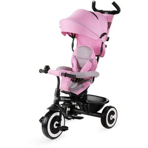 Veliki kotači otporni na probijanje od EVA pjene.    Sigurnosni pojas u pet točaka s jastučićima za ramena.    Za djecu u dobi od 9 mjeseci do 5 godina.