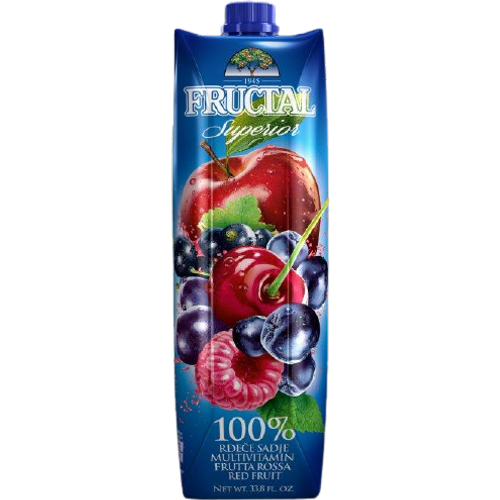 Fructal superior  100% sok multivitamin crveno voće  1l slika 1