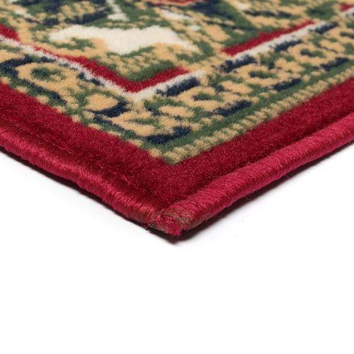 Orijentalni tepih perzijskog dizajna 180 x 280 cm crveni/bež slika 5