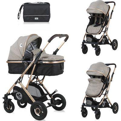 Ovaj set LORELLI SENA 3u1 pruža sve što Vam treba za sretan početak majčinstva: košaru za novorođenče koja se kasnije pretvara u udobna sportska kolica, autosjedalicu s adapterima, torbu i zimsku navlaku. Promatrajte svoje novorođenče od prve šetnje jer kolica SENA imaju opciju i košare za novorođenče i autosjedalice. Lako se sklapaju i rasklapaju, zauzimaju minimalno mjesta, a mogu se koristiti i od samog rođenja...    - Sigurnosni pojas u 5 točaka  - Sjedalo s 3 položaja (ležeći, polu-ležeći i sjedeći)  - Sjedalo u suprotnom smjeru  - Autosjedalica  - Zimska zaštitna navlaka za noge za autosjedalicu, košaru i kolica  - Zaštitna kupola koja se lako rasklapa  - Putna torba s navlakom za previjanje  - Mehanizam lakog sklapanja kolica  - Prostrana donja košara za kupovinu (do 2 kg)  - Aluminijska konstrukcija  - Sklopiva na kompaktnu veličinu