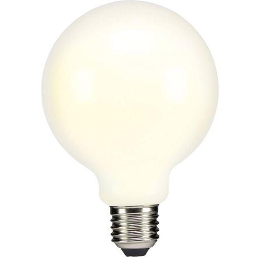 LED žarulja (jednobojna) sygonix 230 V E27 4 W = 37 W topla bijela KEU: A++ okrugli oblik (promjer x D) 95 mm x 135 mm 1 kom. slika 1